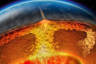 Ученые выявили огромные горы в недрах Земли