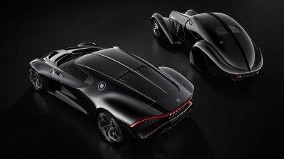 Уникальный гиперкар Bugatti назвали «самым дорогим новым автомобилем планеты»