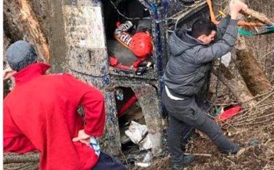 В сети опубликовали видео гибели российского автогонщика