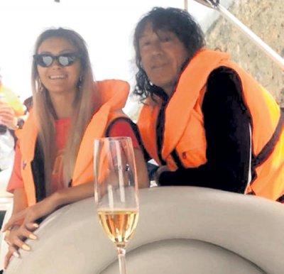 63-летний певец Владимир Кузьмин тайно женился на молодой яхтсменке