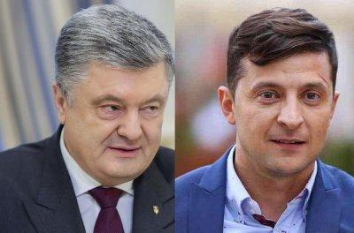Зеленский согласился на дебаты с Порошенко 19 апреля