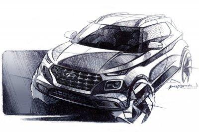 Hyundai показала новый бюджетный кроссовер