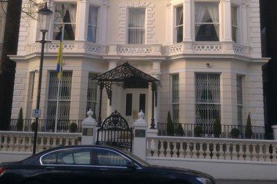 Посольство Украины в Лондоне оцепила полиция после стрельбы