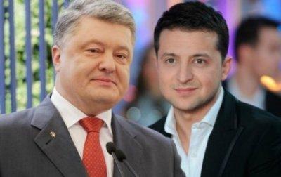 Выборы президента Украины 2019: Порошенко проведет дебаты 14 апреля без Зеленского