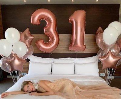 Кристина Асмус отмечает свой 31-й день рождения