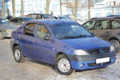 Renault Logan лидирует по популярности на рынке подержанных иномарок в России