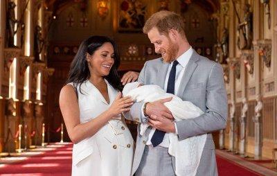 Принц Гарри и Меган Маркл впервые показали сына