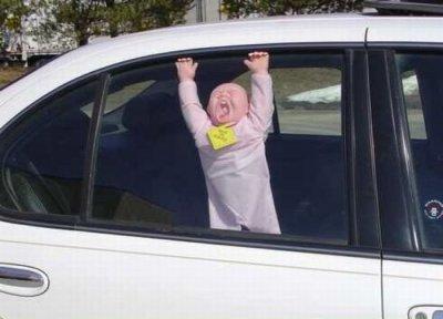 6 советов, как не забыть ребенка в автомобиле
