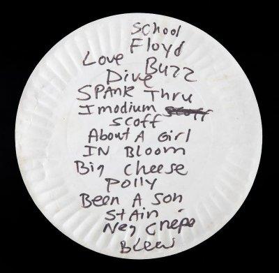 Грязная тарелка Курта Кобейна ушла с молотка почти за 23 тысячи долларов