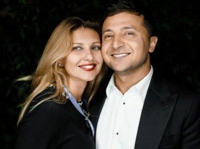 Владимир Зеленский и его жена Елена попали на обложку глянца