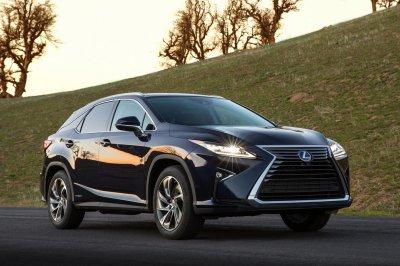 Lexus показал обновленный кроссовер RX