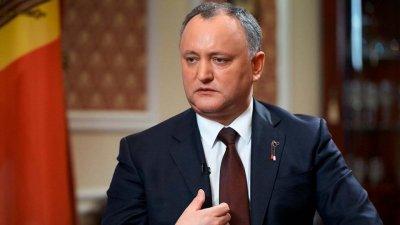 В Молдавии суд временно лишил Додона полномочий президента