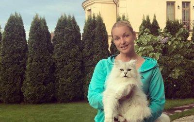 Анастасия Волочкова сделала любимому коту Лакки модную стрижку