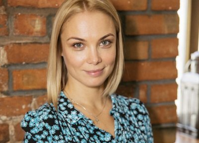 Ольга Арнтгольц впервые показала мужа и 3-летнего сына