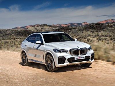BMW официально представила новый X6