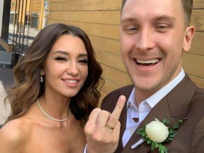 Рэпер T-killah женился на телеведущей Марии Беловой