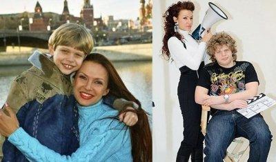 Эвелина Бледанс показала архивные фото со своим старшим сыном Николаем