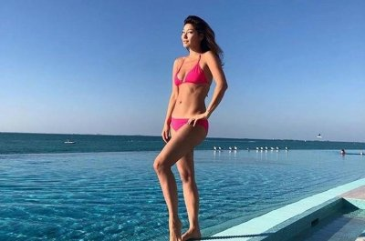 Марина Ким отказалась от макияжа
