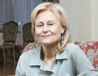 Дарья Донцова презентовала книгу «Мохнатая лапа Герасима»