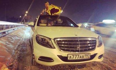 Новый водитель Волочковой трижды разбил ее Mercedes-Maybach