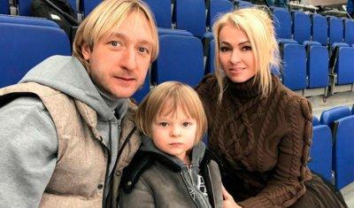 Евгений Плющенко и Яна Рудковская заставляют сына зарабатывать на свою яхту