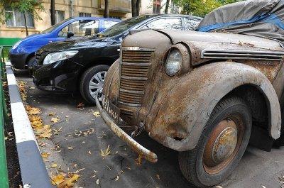 Более половины российских авто попадут под запрет по старости
