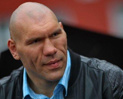 Николай Валуев показал, что он ест после интенсивной тренировки