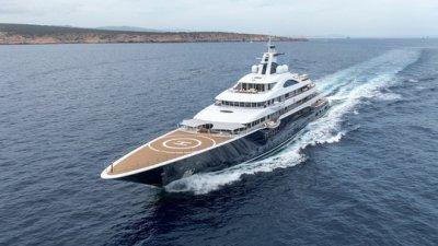 Яхта TIS российского бизнесмена станет крупнейшей в истории Monaco Yacht Show