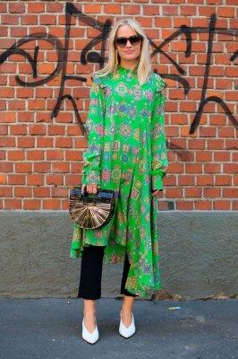 Новые идеи, как носить платья осенью 2019 года