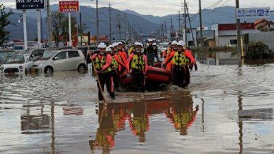 Медики: ураган «Хагибис» в Японии может вызвать эпидемию