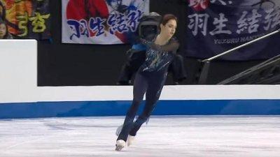 Гран-при по фигурному катанию 2019/20 в Канаде: опубликовано видео падения Евгении Медведевой