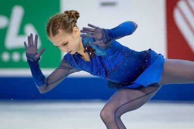 15-летняя фигуристка Александра Трусова выиграла этап Гран-при Skate Canada