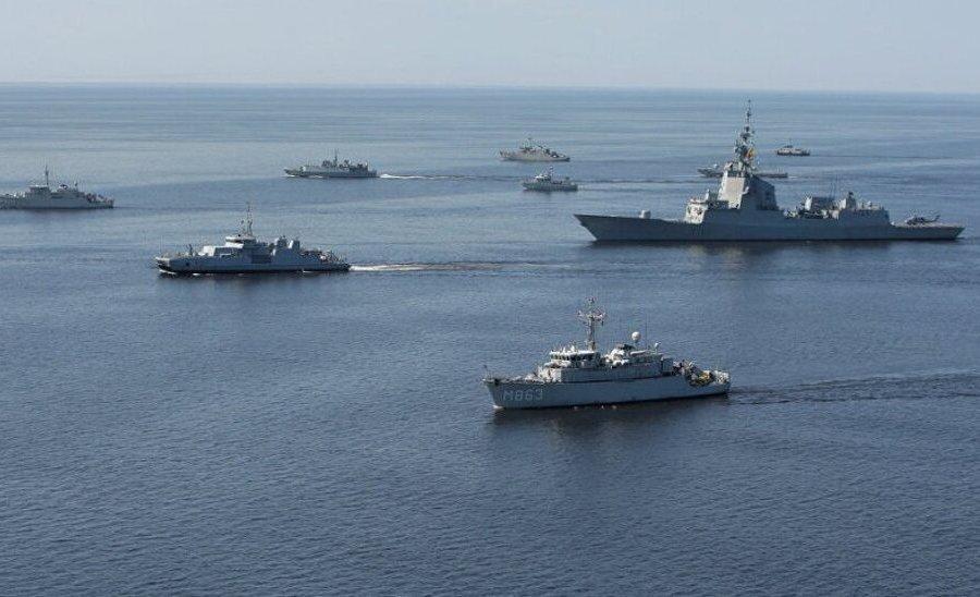 20 кораблей ВМФ РФ блокировали подступы к Крыму для кораблей США и НАТО