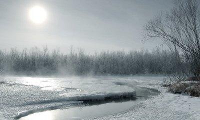 В украину идет морозный антициклон