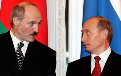 Лукашенко случайно сел в кресло Владимира Путина