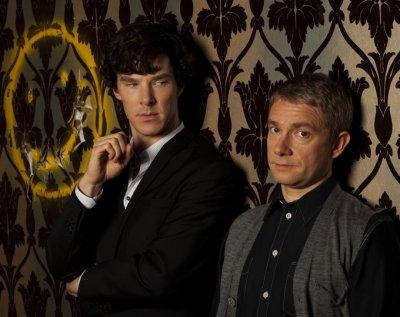 Премьеру третьего сезона сериала «Шерлок» рекламировали на катафалках