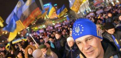 Под Киево-Святошинским судом «Беркут» снова столкнулся с народом. ОБНОВЛЕНО