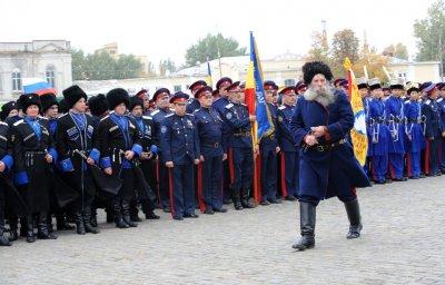 Русские казаки хотят подавить беспорядки в Украине