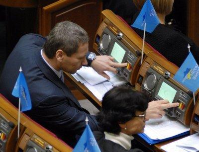 Регионалы не читали законопроект, за который проголосовали в Верховной Раде