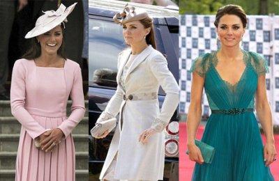 Королева Елизавета раскритиковала стиль Кейт Миддлтон