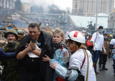 Ситуация в Киеве: Майдан готовится к штурму,  «Беркут» отстреливает митингующих
