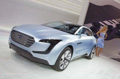 Subaru представит новый кроссовер в Женеве