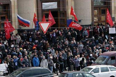 Харьковские сепаратисты объявили о создании «Харьковской народной республики»