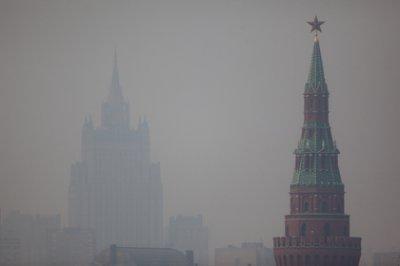Повышенный уровень загрязнения воздуха в Москве