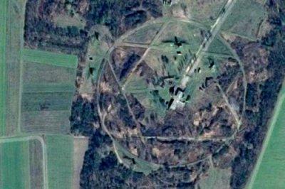 На Закарпатье с помощью Google Maps обнаружили гигантскую Звезду Давида