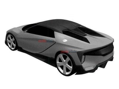 В Сети появились патентные изображения спорткара Acura