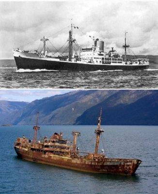 У берегов Кубы появилось судно, исчезнувшее 90 лет назад в Бермудском треугольнике