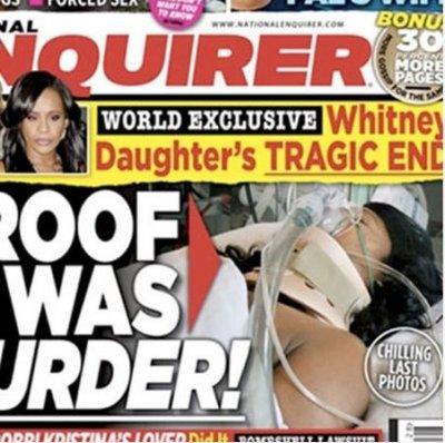 В СМИ разгорелся скандал из-за фотографий умирающей дочери Уитни Хьюстон