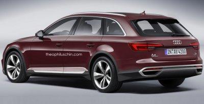 В Сети опубликован рендер нового Audi A4 Allroad