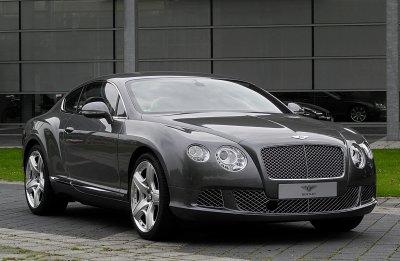 Новый Bentley Continental GT проходит тесты в кузове Porsche Panamera